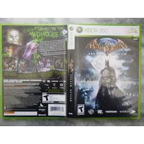 Batman Arkham Asylum Jogo Xbox 360 (midia Fisica)