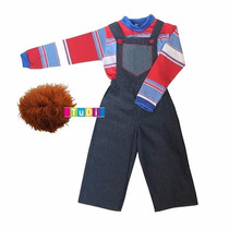 Disfraz Muñeco Malo Halloween Tipo Chucky - Disfraces Tudi