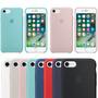 Capinha Capa Case Silicone Original Apple Lacrada Iphone 7