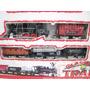 Tren Classical Train Deluxe Luz Sonido Locomotora 4 Vagones