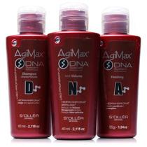 Agi Max Dna System - Kit De Tratamento E Redução De Volume
