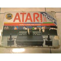 Raro Atari 2600 Polyvox Com Caixa!
