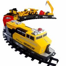 Trem Motorizado Construction Express Caterpillar Dtc 3644