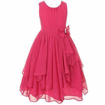 Vestido Infantil/juvenil Festa Casual Verão Aniversário
