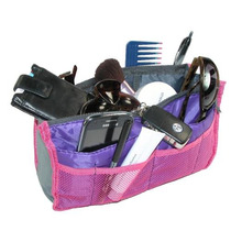 Ctm® Para Mujer Malla Bolso Maletín Organizador, Rosa