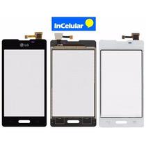 Touch Screen Cristal Lg L5x E450 E450f E540 Con Pegamento!