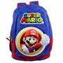 Mochila Super Mario Bros De Costas 3d