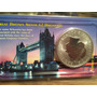 1 Moneda Onza Plata Gran Bretaña 2 Libras Elizabeth Ll 1999