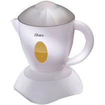 Jugo Oster N-serve 27-ounce Exprimidor Automatico, Blanco
