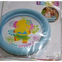 Piscina Inflable Para Bebes Importado De 61 Cms X 11 Cms