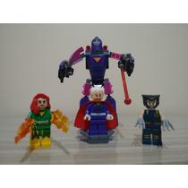 Lego X-men Magneto Wolverine Fenix Robo Sentinéla Marvel