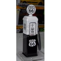 1:18 Bomba De Gasolina Metalica Route 66 Diorama
