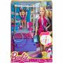 Brinquedo Boneca Barbie Treinadora De Ginástica Mattel Dkj21