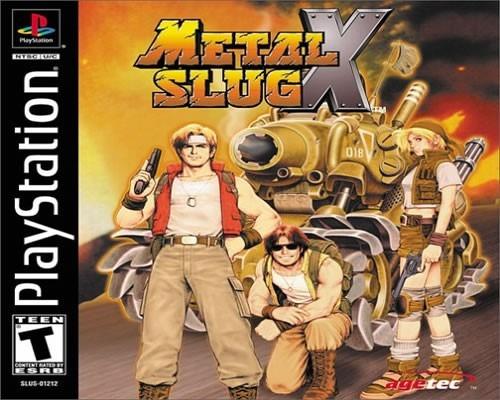Resultado de imagen para metal slug x