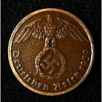 Moneda Alemania Nazi. 1 Reichspfennig 1939a.