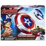 Educando Capitán América Escudo De Ataque Con Lanzador