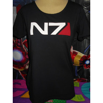 Mass Effect Playera Dama Importada Original Tienda Hot Topic