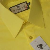 Camisa Social Slim Fit 100% Algodão Fio 50 Extra 51 1016