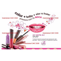 Cyzone Brillo Labial Coctel Kiss Apple Bellini En Oferta!!!