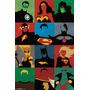 Poster Minimalista Justice League - Retablo Mdf Nuevo Y Unir<br><strong class='ch-price reputation-tooltip-price'>$ 120.000</strong>