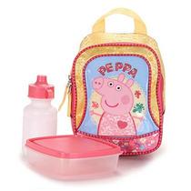 Lancheira Infantil Xeryus Peppa Pig - Amarelo