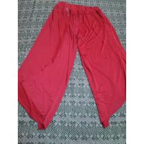 Pantalon Mujer Tipo Falda
