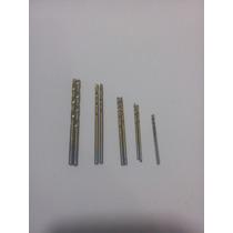 Juego De 10 Brocas Titanio Dremel Minitaladro1mm Hasta 3.5mm