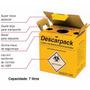 Descarpack - Coletor De Material Perfurocortante - 7 Litros