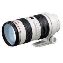 Lente Ef 70-200mm F/2.8l Usm Garantia 1 Ano Canon