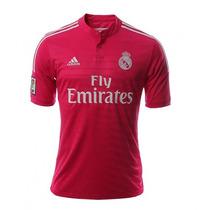 Jersey Visitante Real Madrid 14/15 Hombre Adidas Rosa Nueva