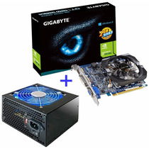 Geforce Gt 420 2gb Ddr3 128 Bits Gigabyte Hdmi + Fonte 420w