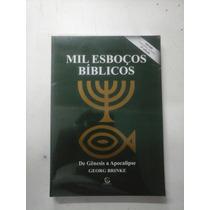 Livro Mil Esboços Bíblicos De Gênesis A Apocalipse