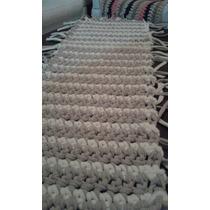 Caminos De Mesa Artesanal Tejido Crochet Totora.