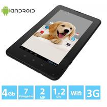 Tablet Ev71 Tela 7 Pega Chip 3g, Gps, 4gb 2 Cameras Whatsapp