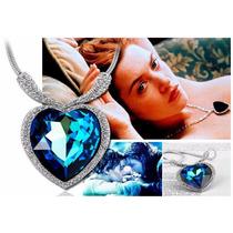 Elegante Collar Corazon Del Oceano Titanic + Bolsita +envio