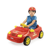 Carro A Pedal - Mercedes Bombeiros C/ Capacete - Homeplay
