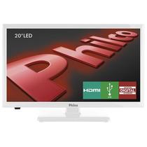 Tv 20 Led Hd Ph20u21db 2 Hdmi, 1 Usb, Dtv, Branco - Philco