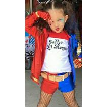 Disfraz Harley Quinn Escuadron Suicida Niñas