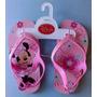 Chanclas Minnie Mouse Para Niña Numero 11 Americano - (18cm)