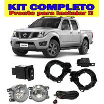 Kit Farol De Milha Nissan Frontier 2014 Bt Modelo Original