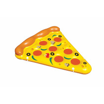 Inflable En Forma De Rebanada De Pizza
