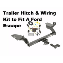 Tiron Para Ford Escape 2013 A 2016 Con Harness Electrico