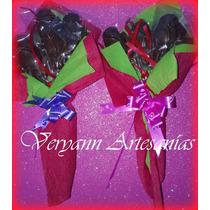 Rosas De Chocolate Ramos Dia Del Maestro Dia De La Madre