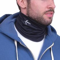 Cuello Termico Deportivo Marca Ptm Microfibra Con Lycra
