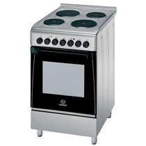 Cocina Indesit 50 Cm Kn3e51 (x) Electrica Inoxidable