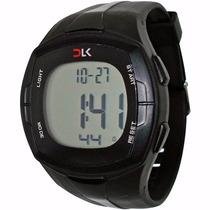 Relógio Monitor Cardíaco Dlk E001 Frequencímetro + Calorias
