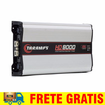 Modulo Amplificador Taramps Hd8000 8000 W Rms + Clip + Frete