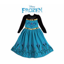 Vestido Elsa Frozen Coroação Da Rainha 2 Ou 3 Anos Fantasia