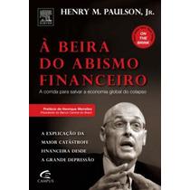 Livro A Beira Do Abismo Financeiro Editora Campus