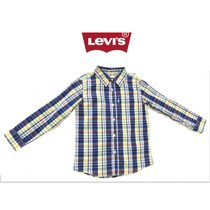 Camisa Levi´s Niño Hermoso Diseño Moda Infantil 100% Algodón